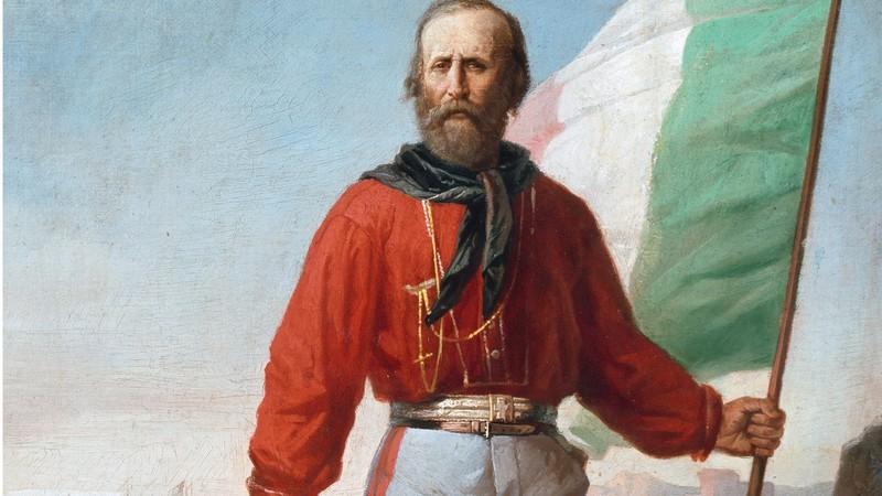 O líder revolucionário Giuseppe Garibaldi (Foto: Reprodução)