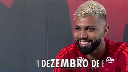 """Entre a sinceridade e a """"marra"""", Gabigol dribla a praia e abraça o Flamengo: """"Coração falou mais alto"""""""