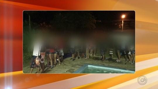Menores são flagrados com bebida alcoólica e drogas durante festa em Rio Preto