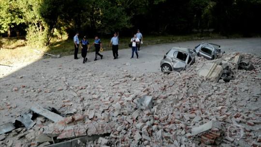 Terremoto na Albânia deixa dezenas de feridos