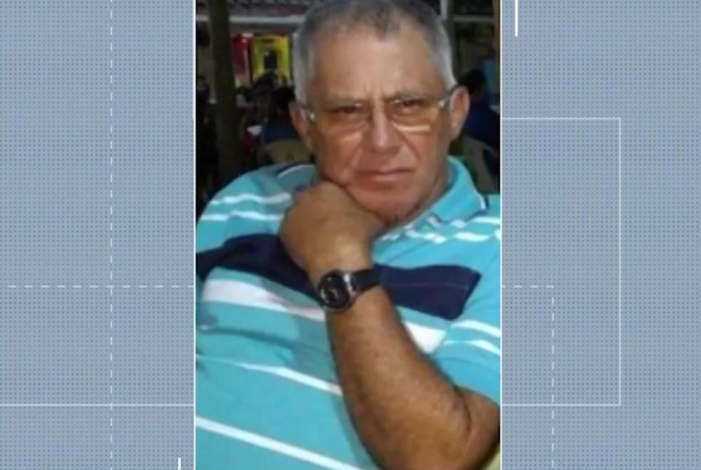 Antônio Roberto Aguiar desapareceu transportando carga de soja  — Foto: Reprodução/TV Subaé