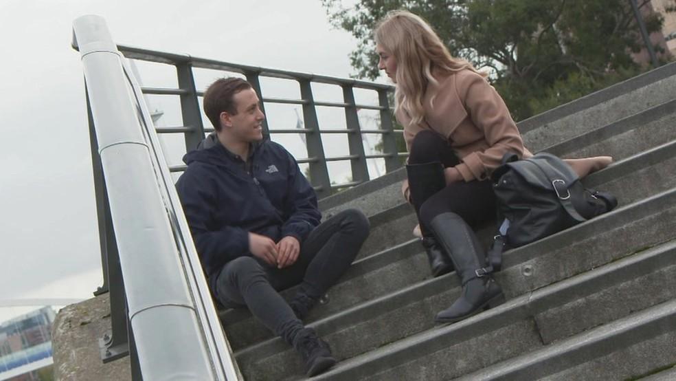 Jack acredita que poderia ter evitado o transtorno alimentar se tivesse se aberto com alguém sobre as angustias que sentia na adolescência — Foto: BBC