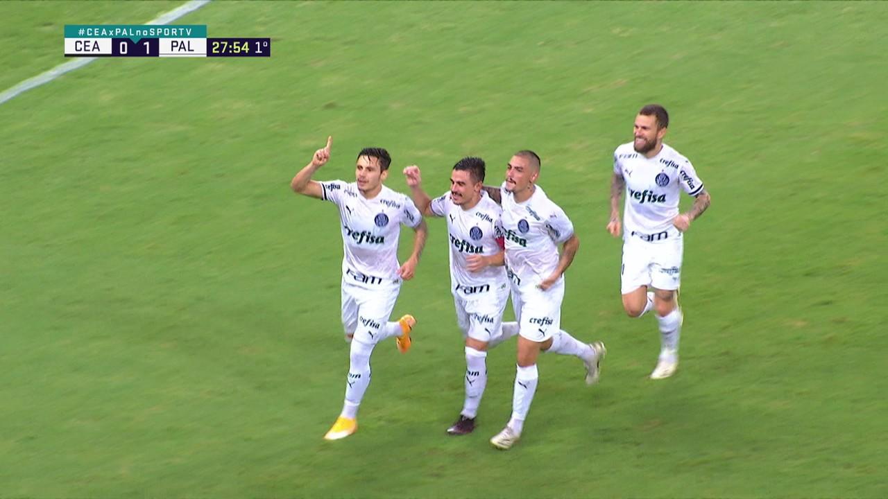 Gol 12: Ceará x Palmeiras