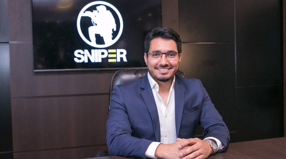 Hilston Guerim, um dos criadores da franquia de entretenimento de airsoft, Sniper (Foto: Divulgação/PDMG)