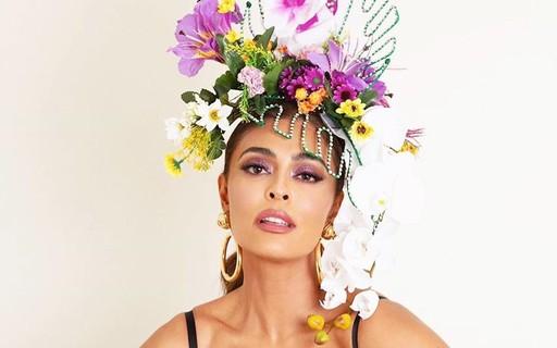 Baile da Vogue 2020: os melhores acessórios de cabeça floridos