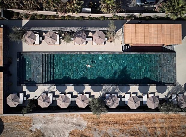 Charmosa e minimalista, a decoração do Istoria Hotel é super moderna (Foto: Istoria Hotel/  Reprodução)