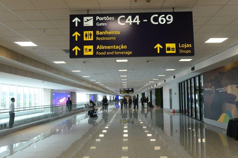 Brasil tem 10 aeroportos entre os mais pontuais do mundo, diz relatório