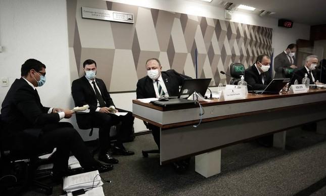 Depoimento de Eduardo Pazuello na CPI da Covid
