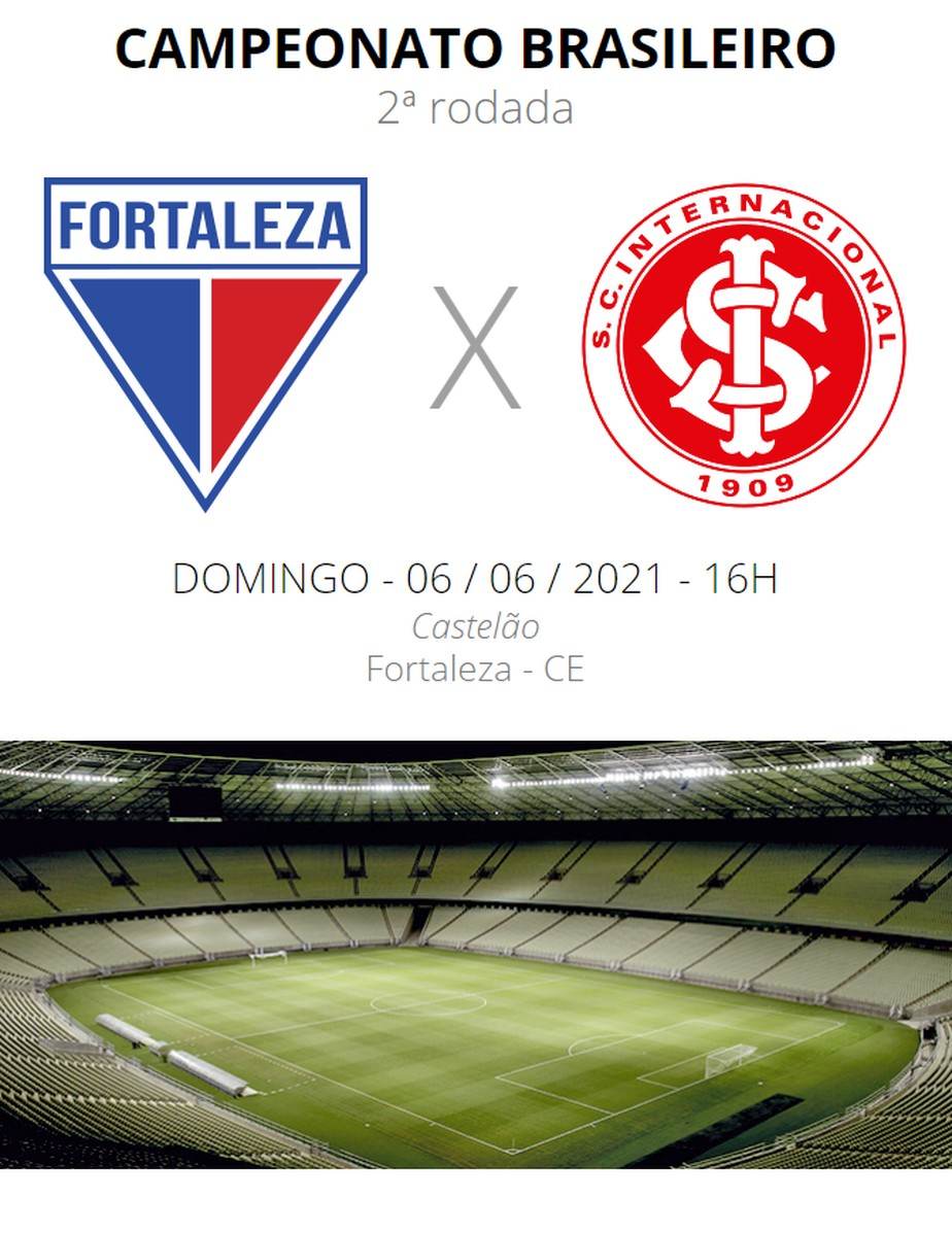 Fortaleza X Internacional Veja Onde Assistir Escalacoes Desfalques E Arbitragem Brasileirao Serie A Ge