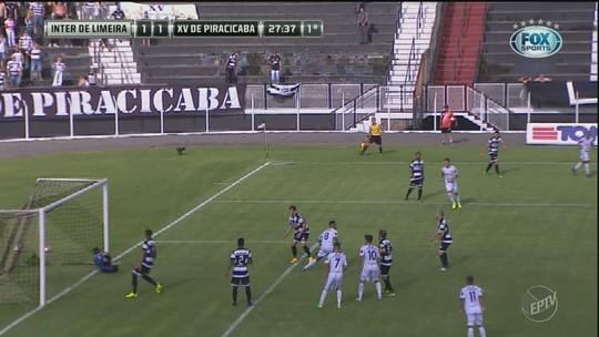 Com um a menos, Inter vira no fim, elimina XV nos pênaltis e vai à final da Copinha
