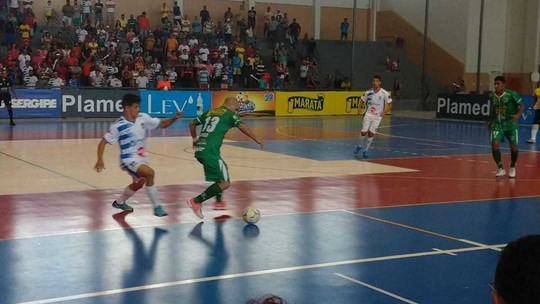 Bola na rede: confira os gols de Lagarto 6 x 3 Cumbe