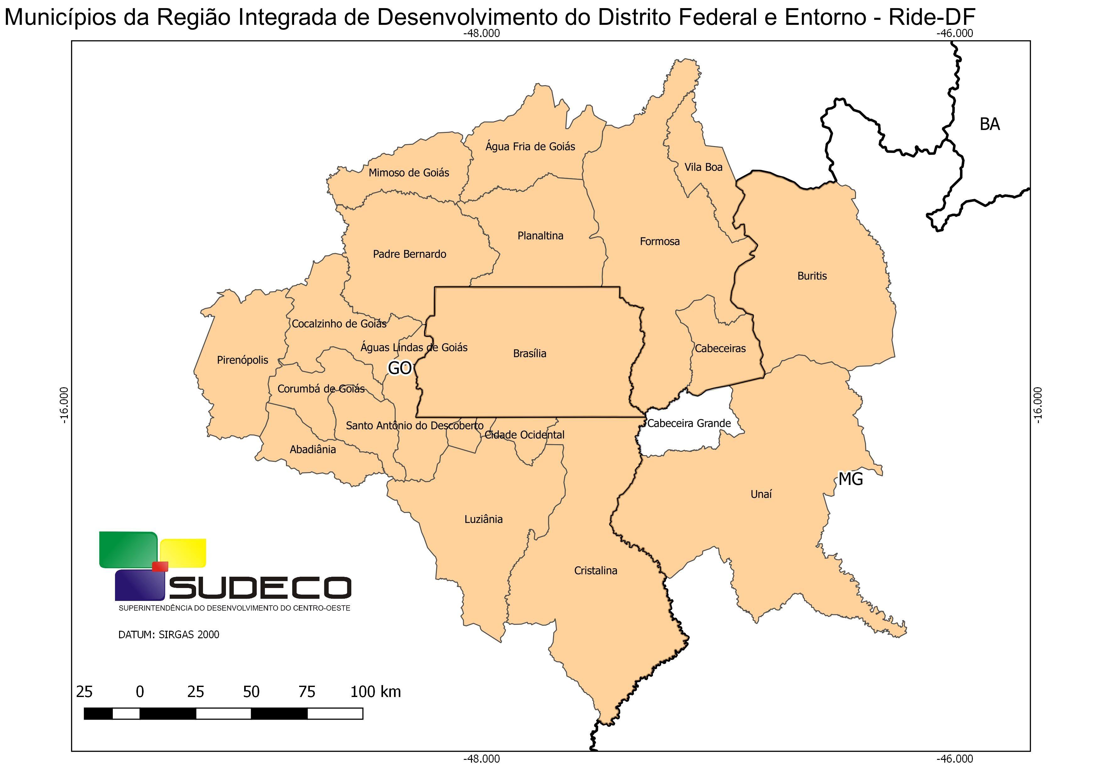 Temer sanciona expansão da região integrada do DF; veja municípios de MG e GO incluídos