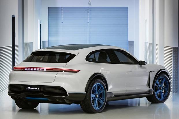 Porsche Mission E Cross Turismo Concept (Foto: Divulgação)