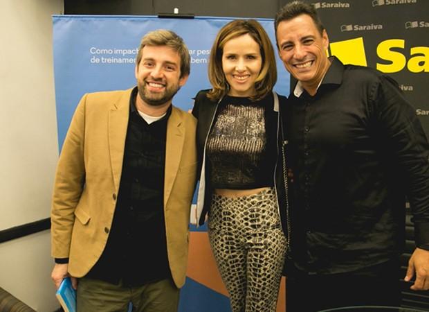 Andre Berti, Leona Cavalli e Rodrigo Cardoso (Foto: Foto: Thiago Duran/ Ag News)