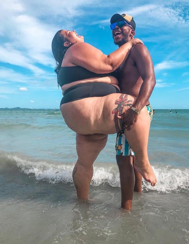 Thais Carla e o marido, Israel Reis (Foto: Reprodução/Instagram)