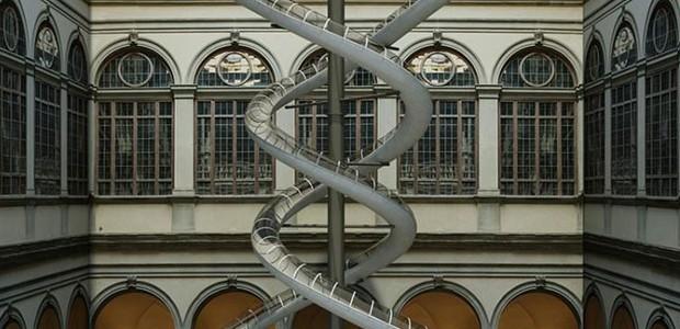 The Florence Experiment, em Florença, no Palazzo Strozzi (Foto: Designboom/Reprodução)
