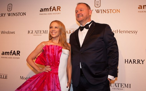 Kylie Minogue e Kevin Frost