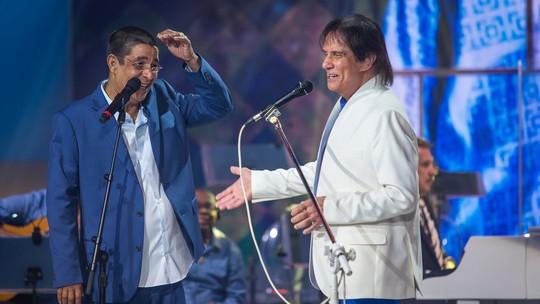 Zeca Pagodinho relembra primeira vez no especial de Roberto Carlos: 'Era um gravetinho'