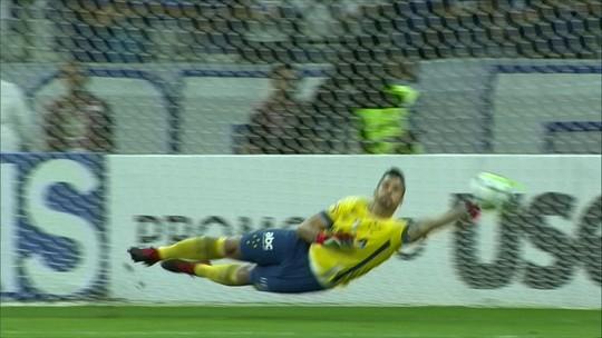 Cruzeiro perde para o Santos, mas Fábio garante vaga nos pênaltis