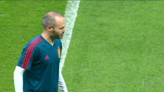 Espanha enfrenta Irã pressionada após empate na estreia com Portugal