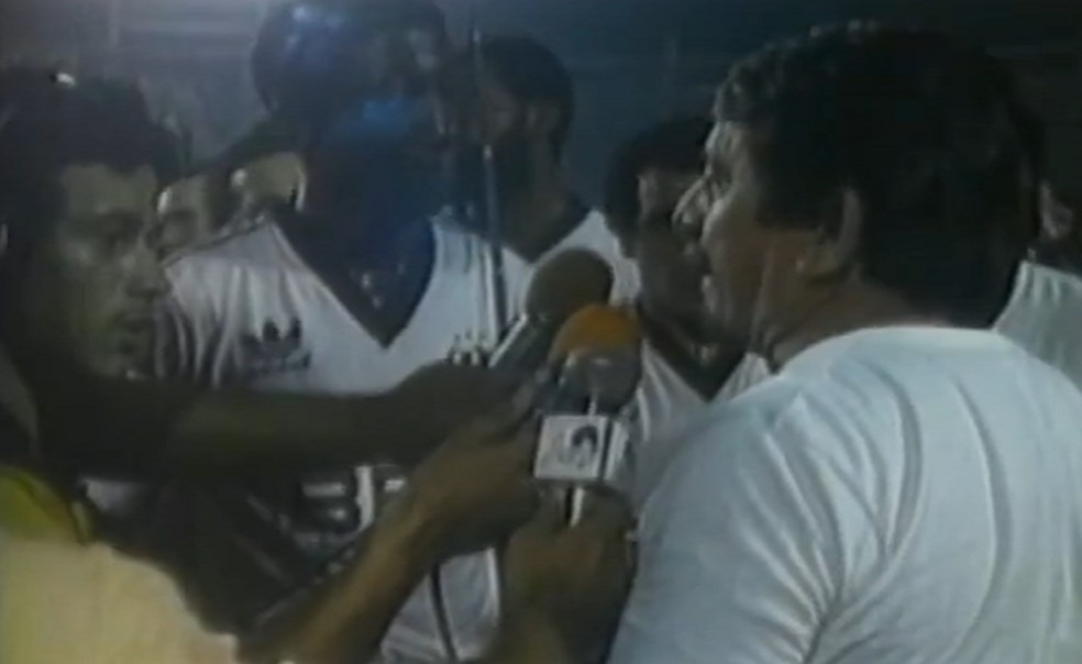 Argeu dos Santos com a camisa do Ceará. ?- Foto: Reprodução/TV Verdes Mares