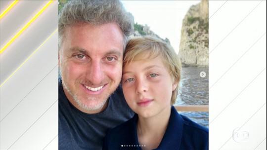 Luciano Huck fala sobre o acidente que o filho sofreu no RJ e agradece apoio e orações