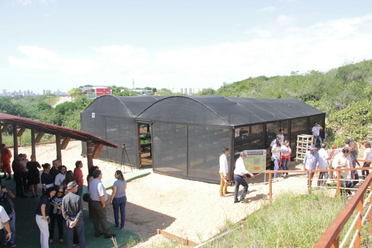 Prefeitura inaugura Centro de Produção de Mudas da Mata Atlântica