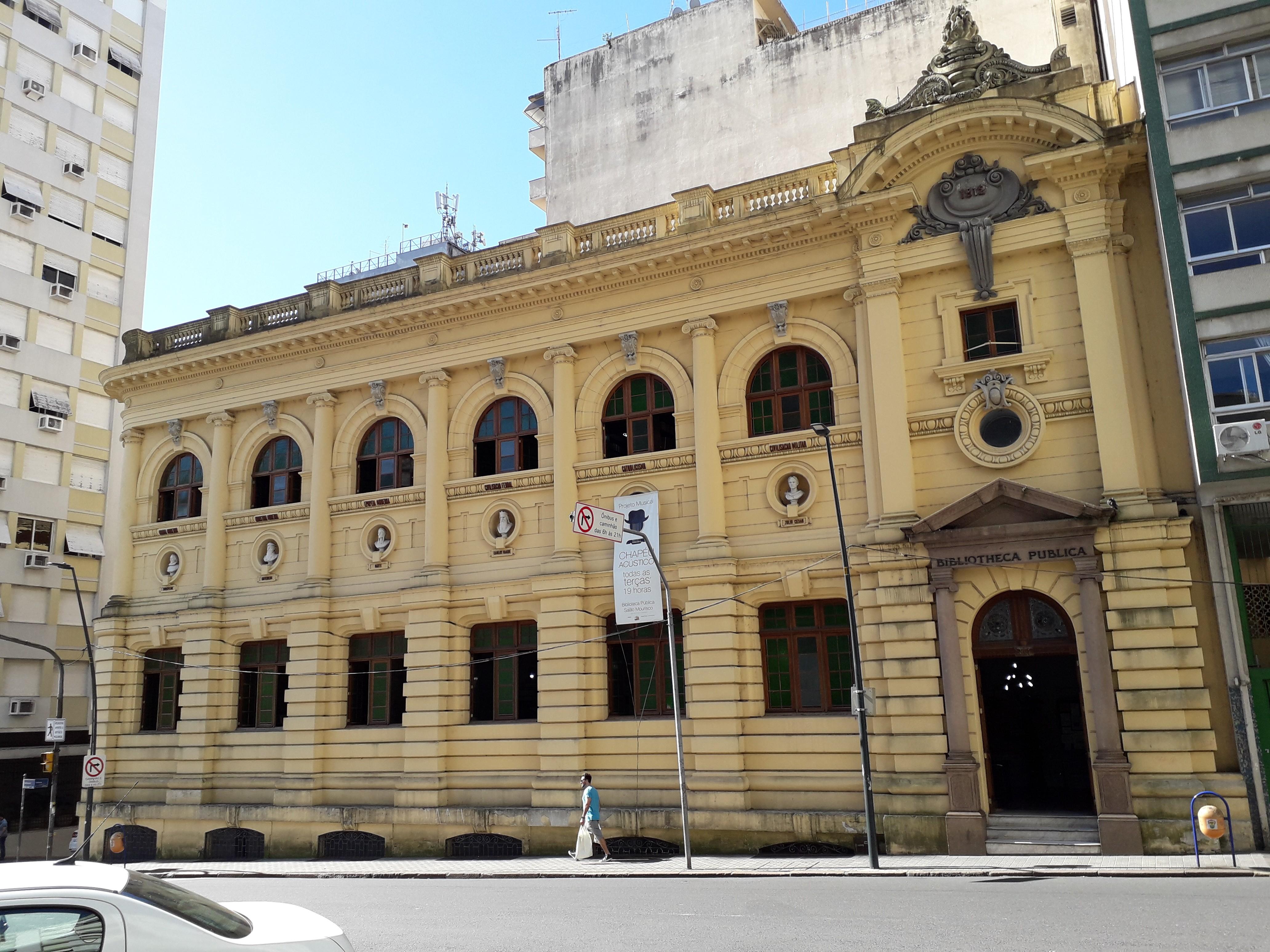 Biblioteca Pública do RS completa 150 anos e comemora com encontro virtual entre escritores