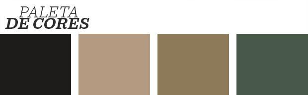 Décor do dia: quarto preto e dourado (Foto: Reprodução)
