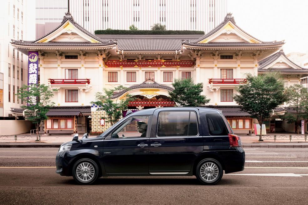 Toyota Táxi (Foto: Divulgação)