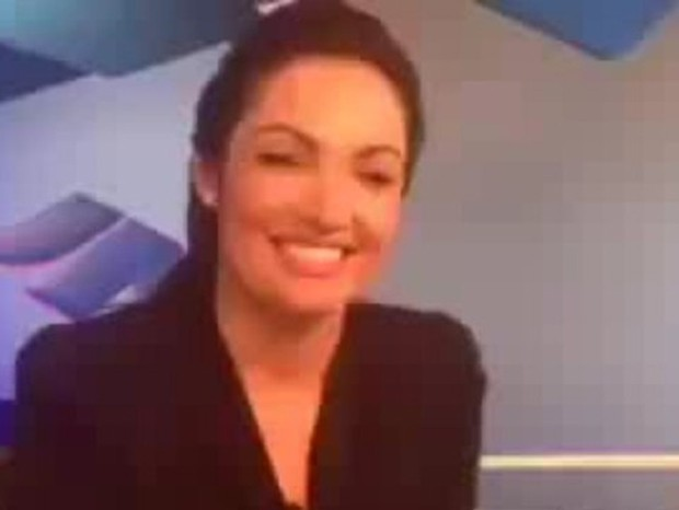 Patrícia Poeta no último dia de Jornal Nacional, em 2014 (Foto: Reprodução/Instagram)