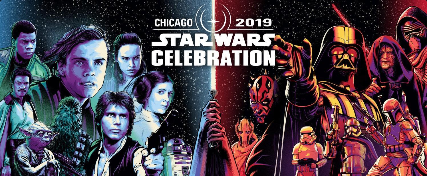 Ilustração de Cris Vector para Star Wars Celebration 2019 (Foto: Cris Vector)