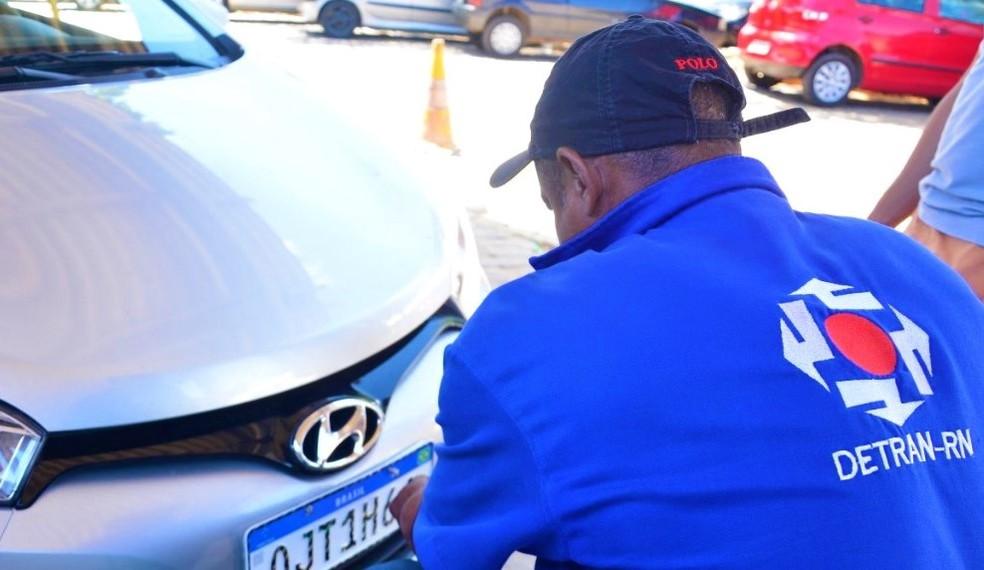 Detran retoma atendimento presencial no setor de Registro de Veículos em Natal e Mossoró — Foto: Divulgação