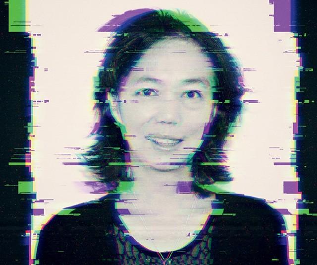 Fei-fei Li é uma árdua defensora da diversidade nas equipes que criam inteligência artificial — uma área dominada por homens, e de origem semelhante. e ISSO, Para ela, é um perigo (Foto: Intervenção gráfica sobre foto Getty Images)