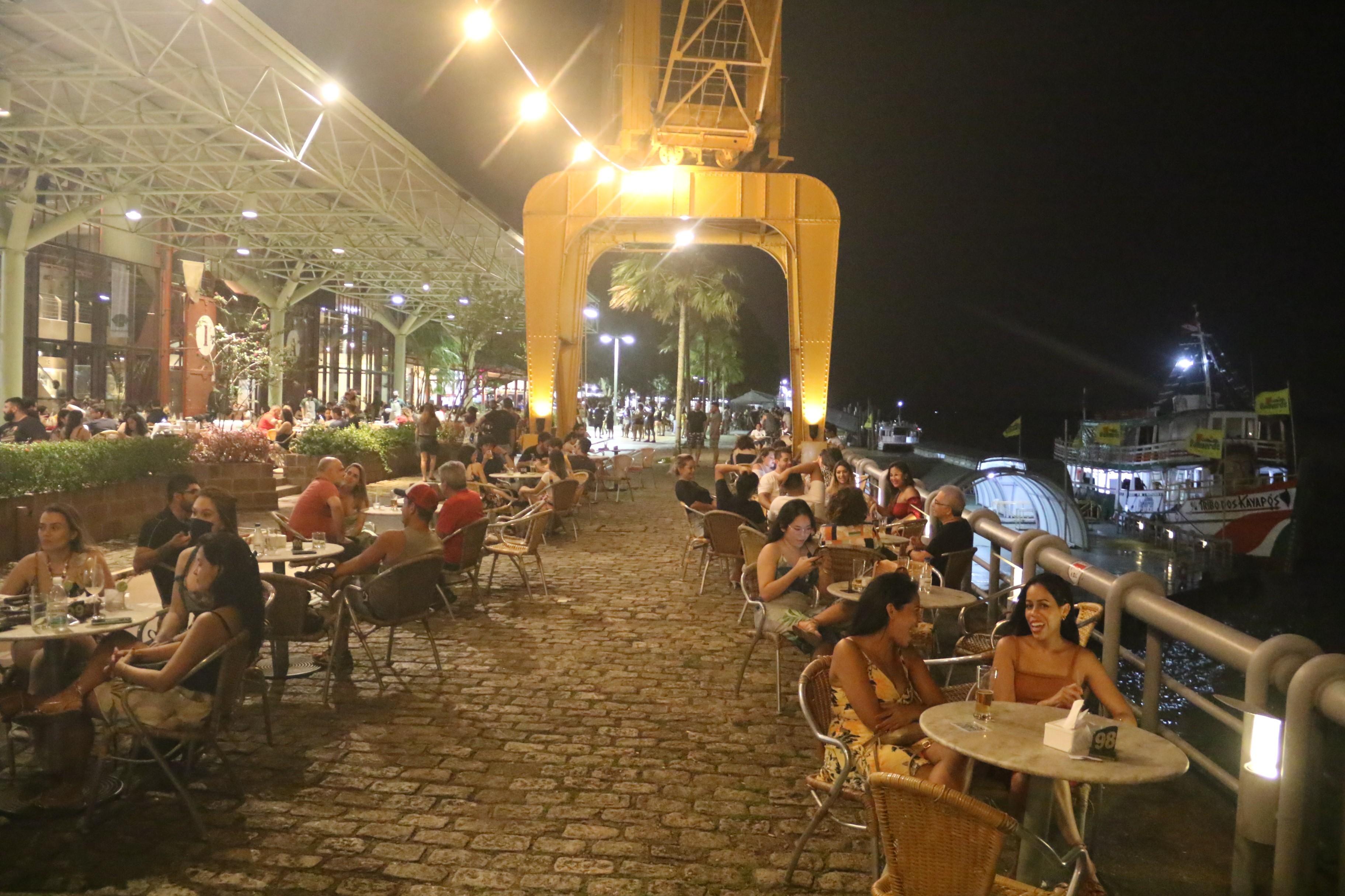 Prefeitura de Belém reduz horário de funcionamento de bares, restaurantes e casas de shows