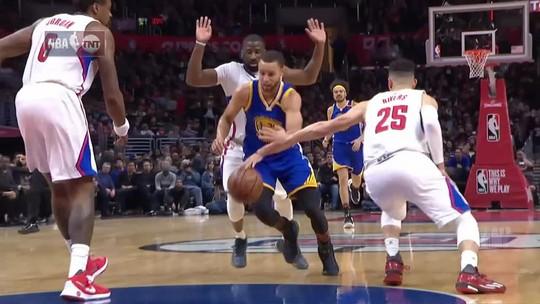 Griffin carrega Clippers, mas Curry e Durant garantem vitória dos Warriors