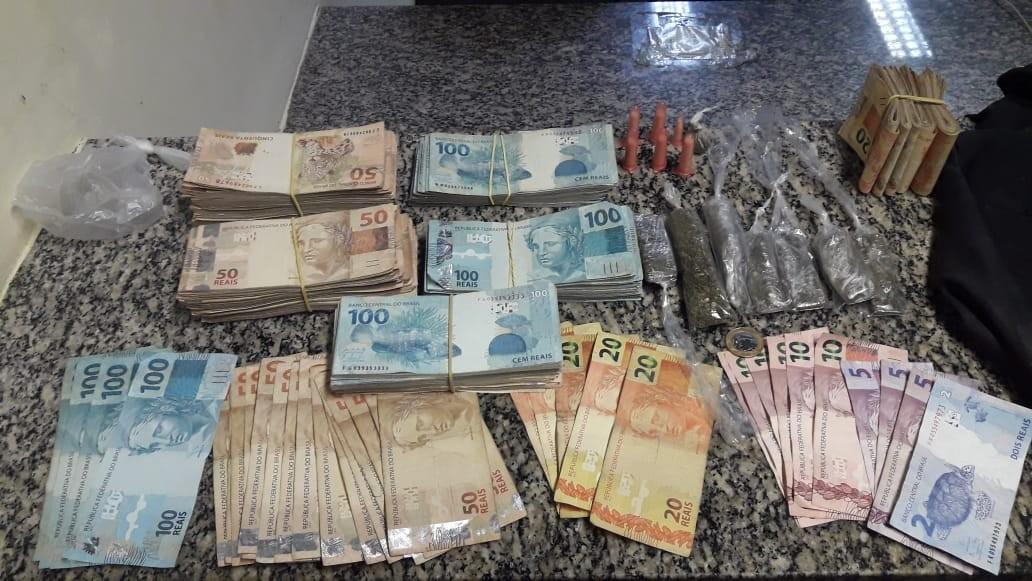 Jovem de 19 anos é preso em flagrante por tráfico de drogas em Itatiaia