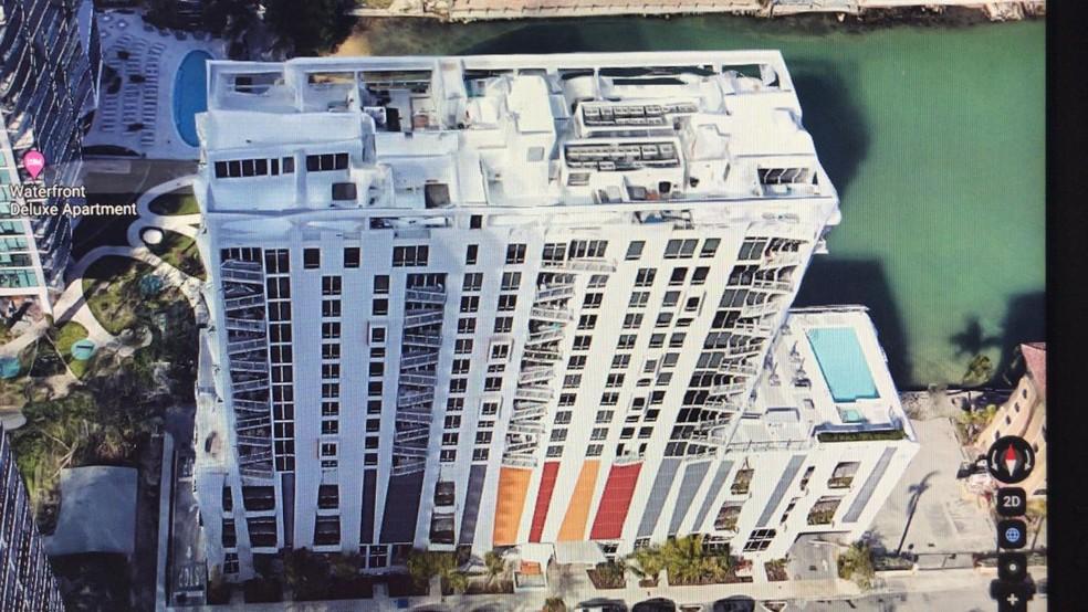 Coberturas em nome de filho de Paulo Melo fica em prédio em Miami, nos Estados Unidos — Foto: Reprodução