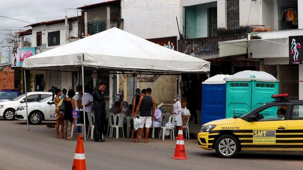 Bairros de Feira de Santana, na Bahia, recebem medidas mais restritivas — Foto: Divulgação/Prefeitura