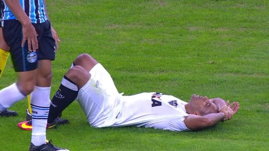 """De volta após lesão """"relâmpago"""" pelo Atlético-MG, Edinho analisa condição física e busca por vaga entre titulares"""