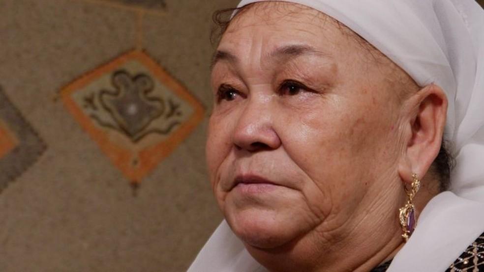 Khalida Akytkankyzy deixou Xinjiang em 2006 — Foto: BBC