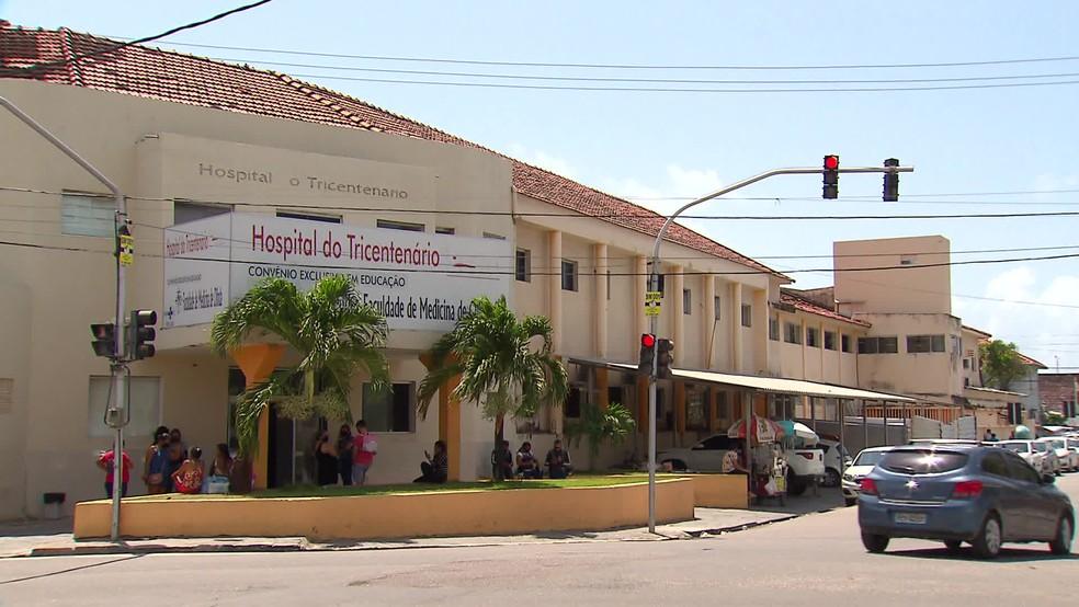 Hospital Tricentenário de Olinda — Foto: Reprodução/TV Globo