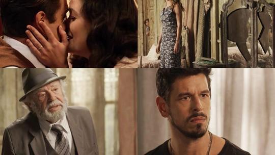 Alain e Letícia trocam mensagens em 'Espelho da Vida'. Fique por dentro do vem por aí na trama!