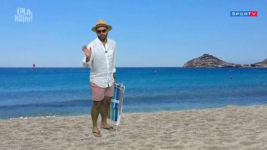 Quem deve apresentar o #falamuito nas férias do Lucas Gutierrez?