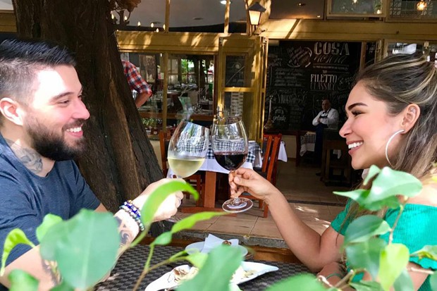 Jake Leal e Douglas D Amore (Foto: Divulgação/Leonardo Almeida Assessoria)