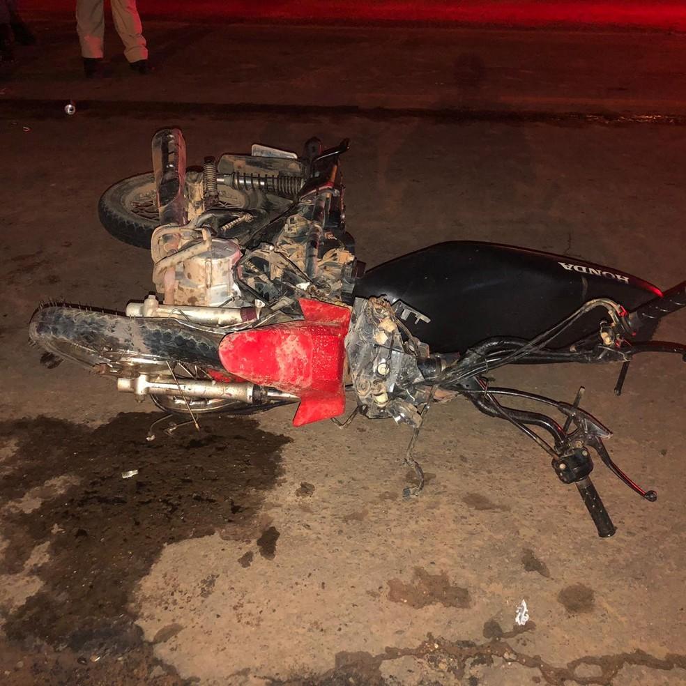 Casal morre após colisão frontal na BR-010 no Maranhão — Foto: Divulgação/ PRF