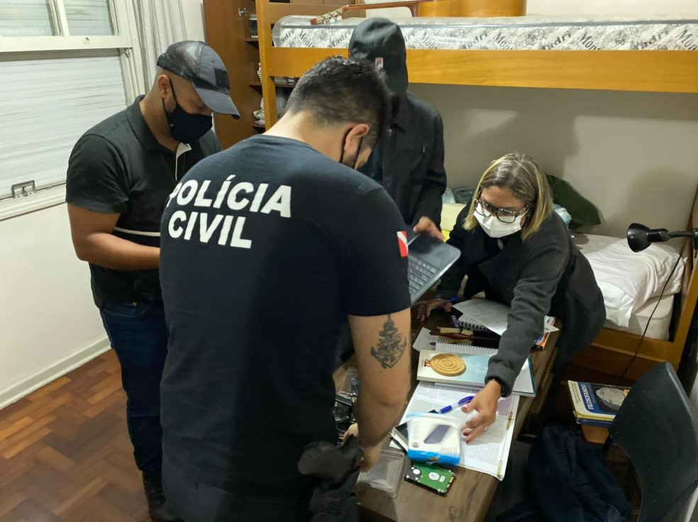 Polícia do Pará prende associação criminosa que desviou mais de R$ 1 milhão de companhia elétrica  — Foto: Polícia Civil