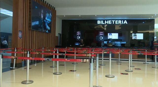 Cinema de Rio Branco reabre com 50% da capacidade do público após três meses fechado