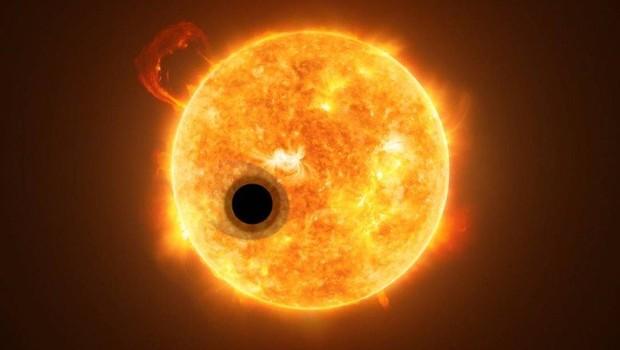 Exoplaneta WASP-107 está orbitando em torno de uma estrela, na constelação de virgem  (Foto: Reprodução / NASA)