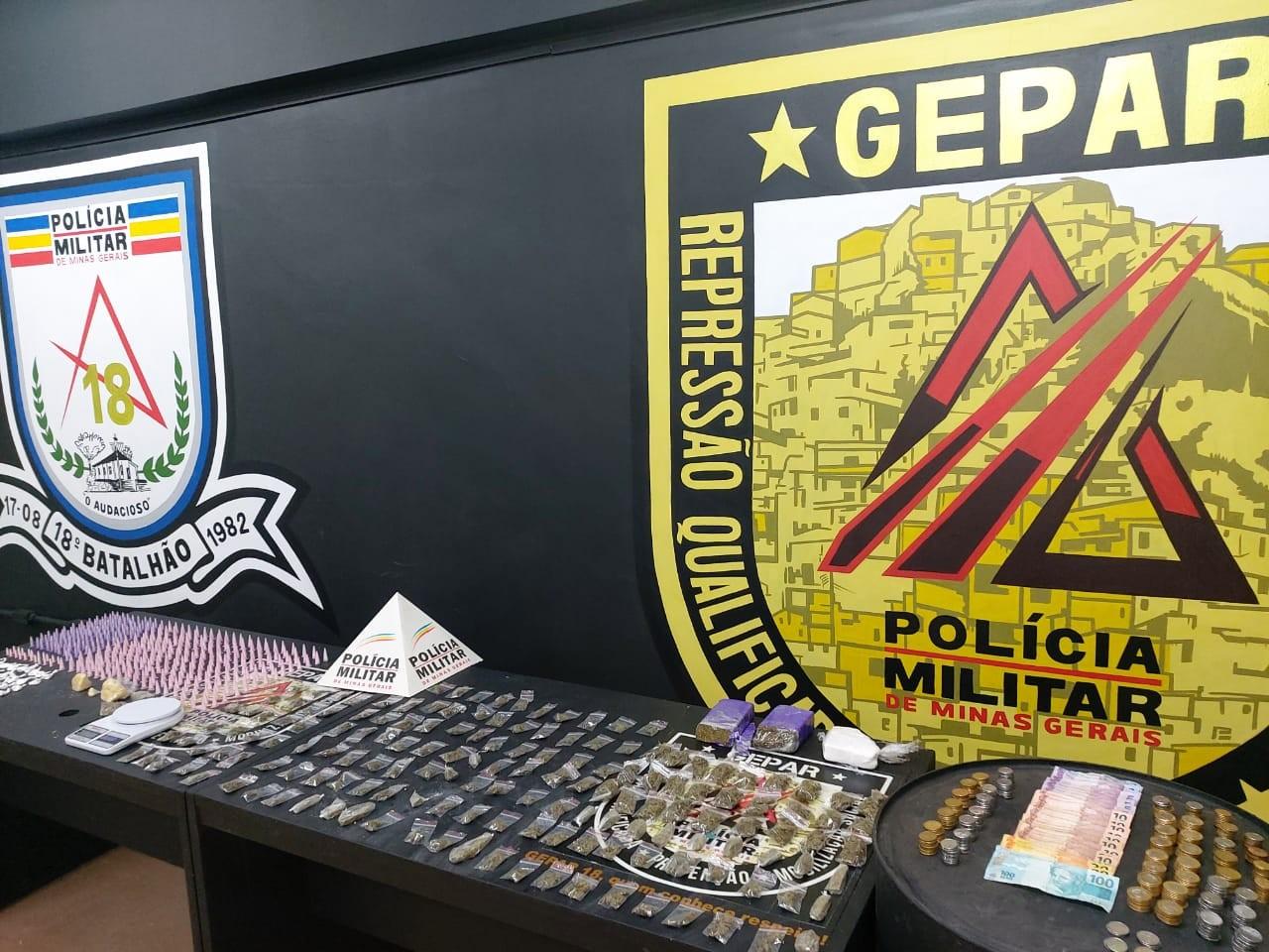 Motoboy é preso usando nome de aplicativo de entrega para distribuir drogas na Grande BH